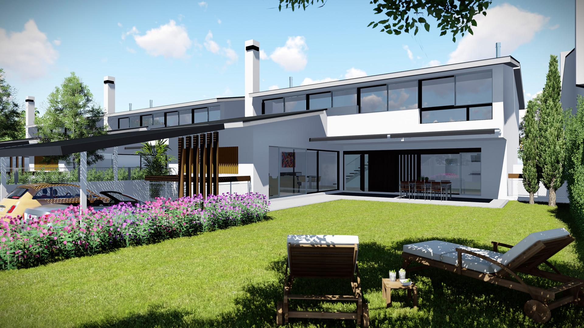 Gesvieco gestores inmobiliarios - Casas con jardines ...